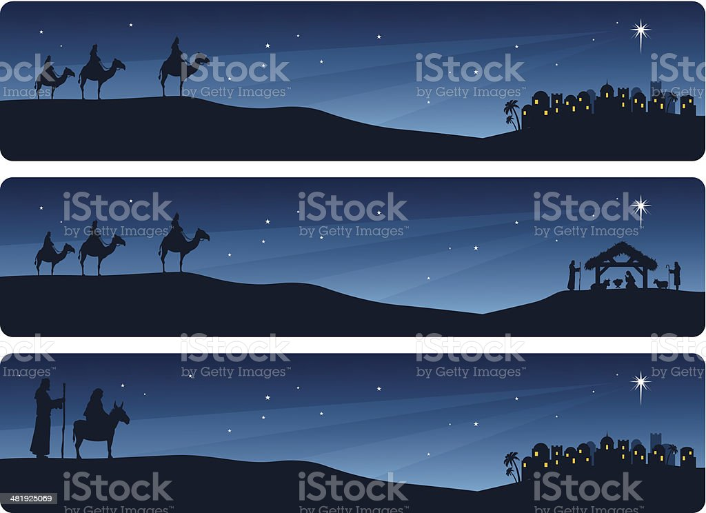 Nativity Banners royalty-free nativity banners stock vector art & more images of backgrounds