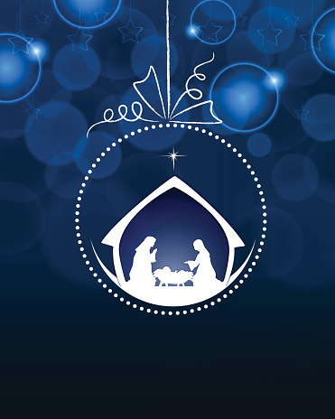 Nativity Bauble