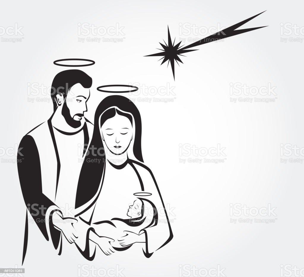 Ilustración de Escena Del Cumpleaños De Jesús Natividad y más banco ...