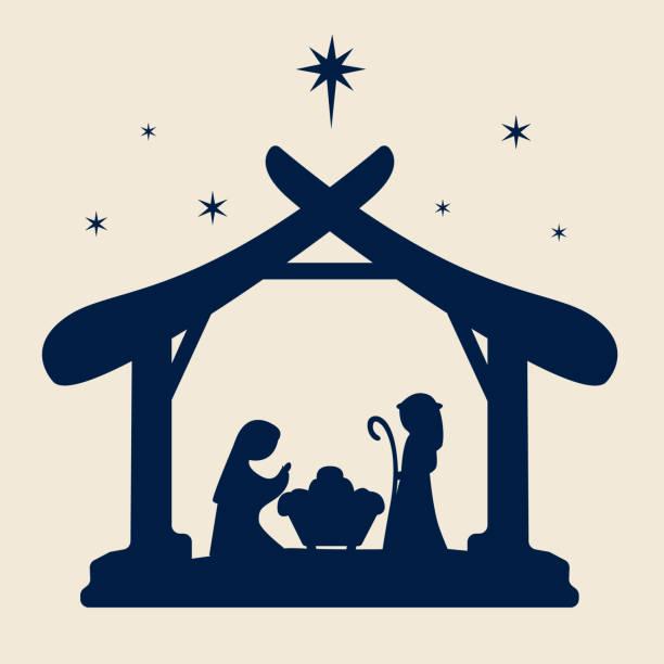 Christmas nativity clipart. Free download transparent .PNG | Creazilla