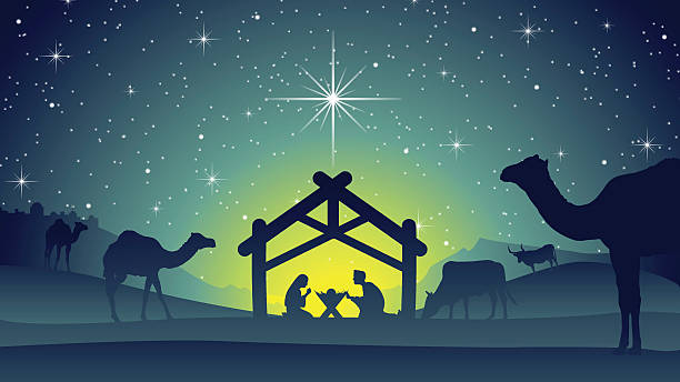 Royalty Free Nativity Scene Clip Art, Vector Images ...