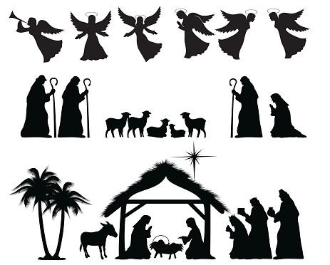 Nativity Silhouette
