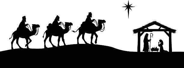 Top 60 Nativity Silhouette Clip Art, Vector Graphics and ...