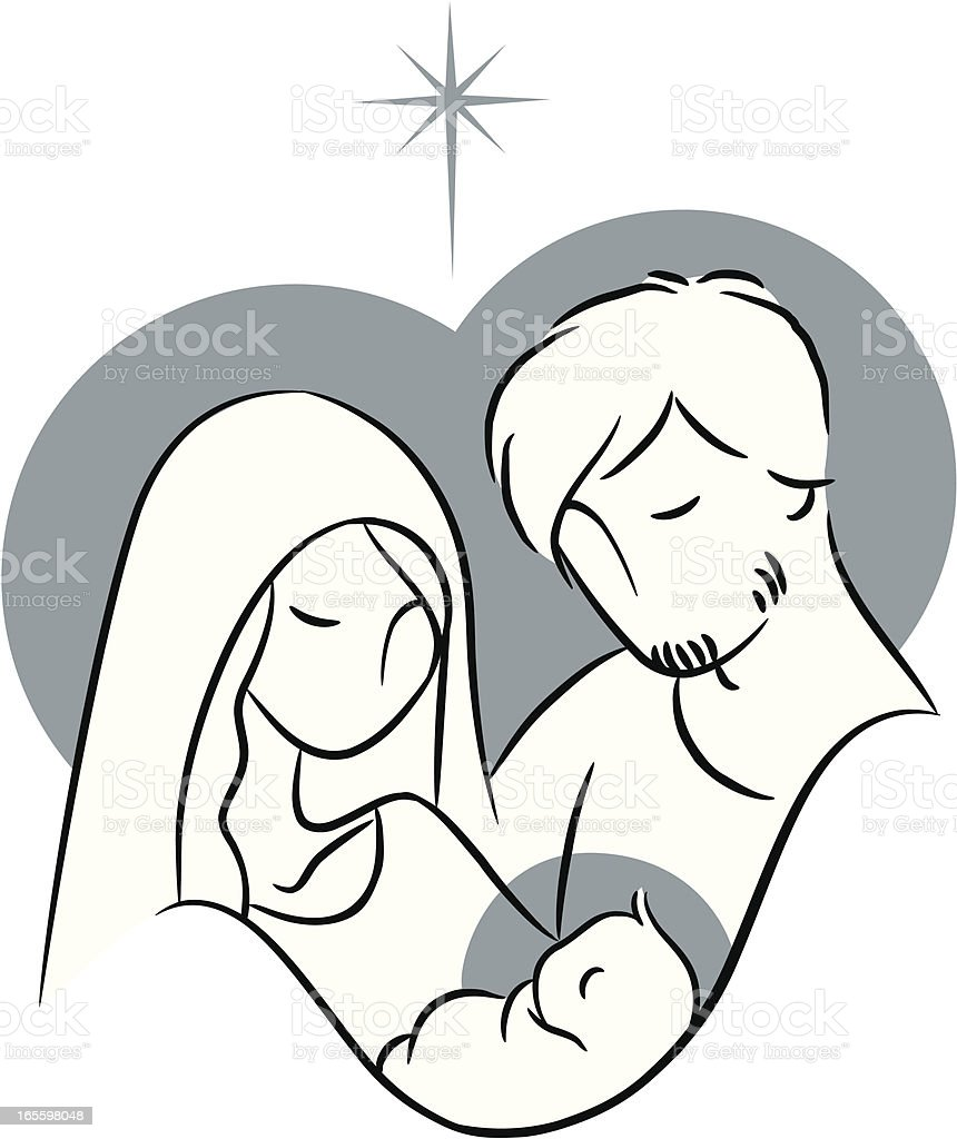 Nativity royalty-free nativity stock vector art & more images of baby