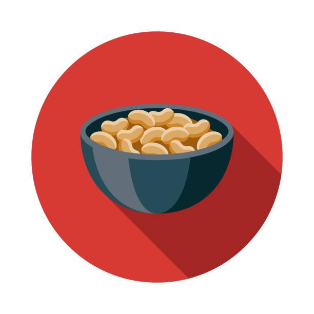 ikona japońskiego jedzenia natto - fasola stock illustrations