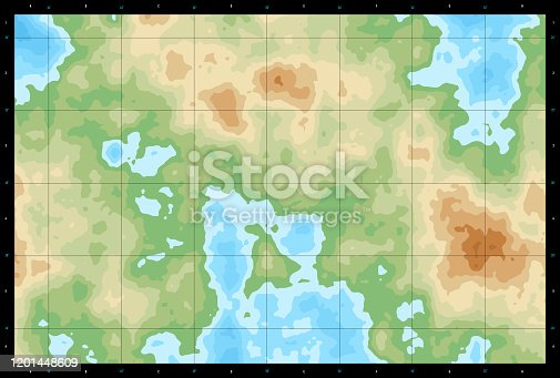 istock Natural Color Generic Topographic Map 750 1201448609