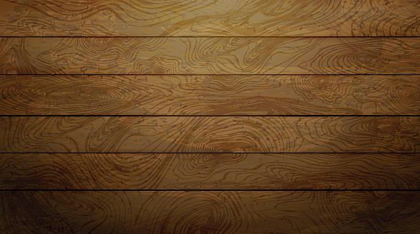 Natural Dark wood texture. - ilustración de arte vectorial