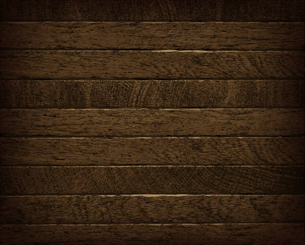 natural dark wooden background. - wood texture stock illustrations