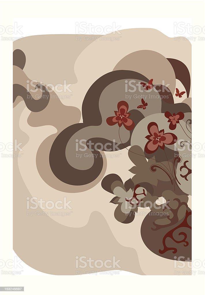 natural floral motif royalty-free natural floral motif stock vector art & more images of art