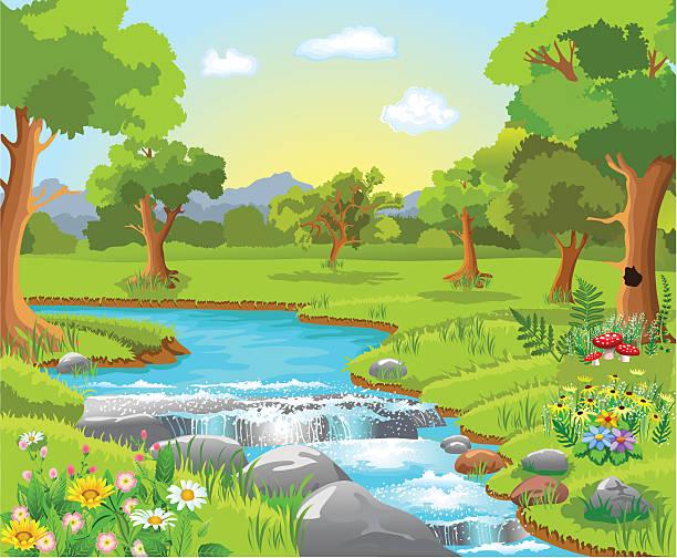 Garden Of Eden Illustrations Royalty Free Vector Graphics Clip