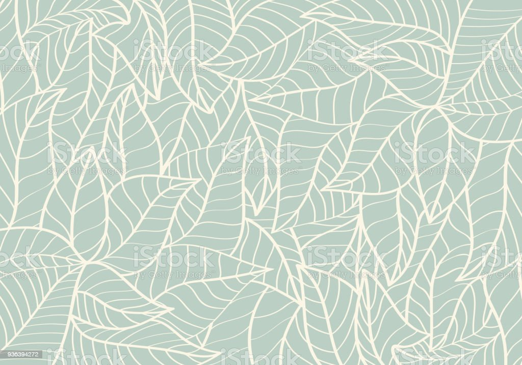 Natural Pattern,Abstract,Curve shape,Leaf Green colour Background royalty-free natural patternabstractcurve shapeleaf green colour background stock illustration - download image now