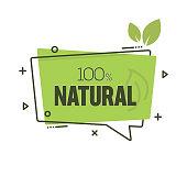 Natural Product Badge