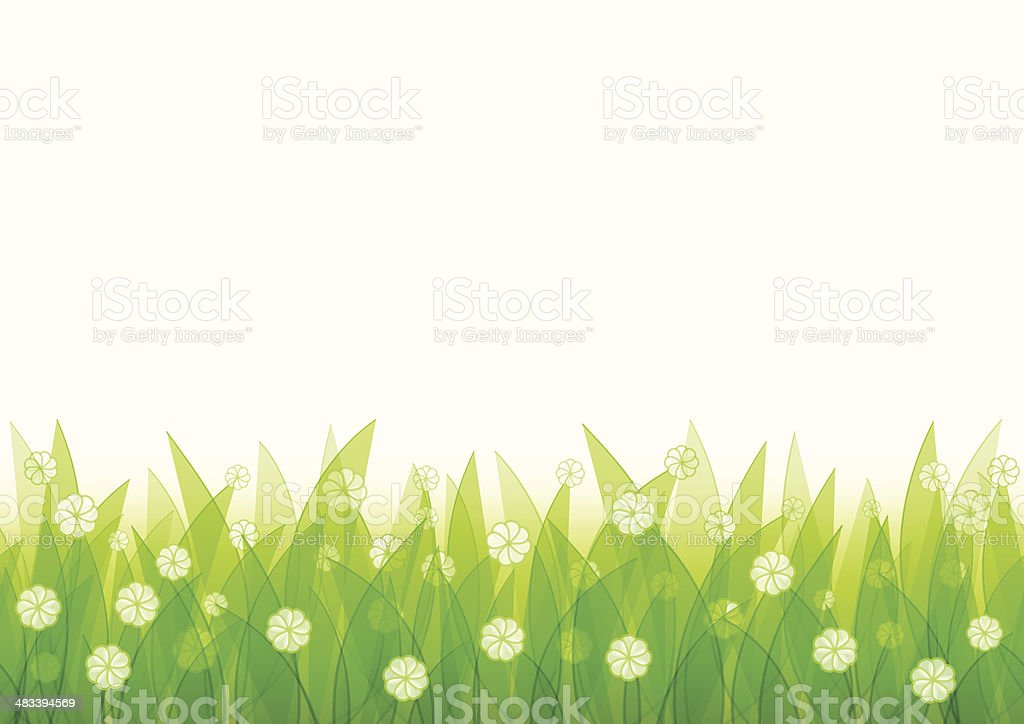 Natural seamless background royalty-free stock vector art