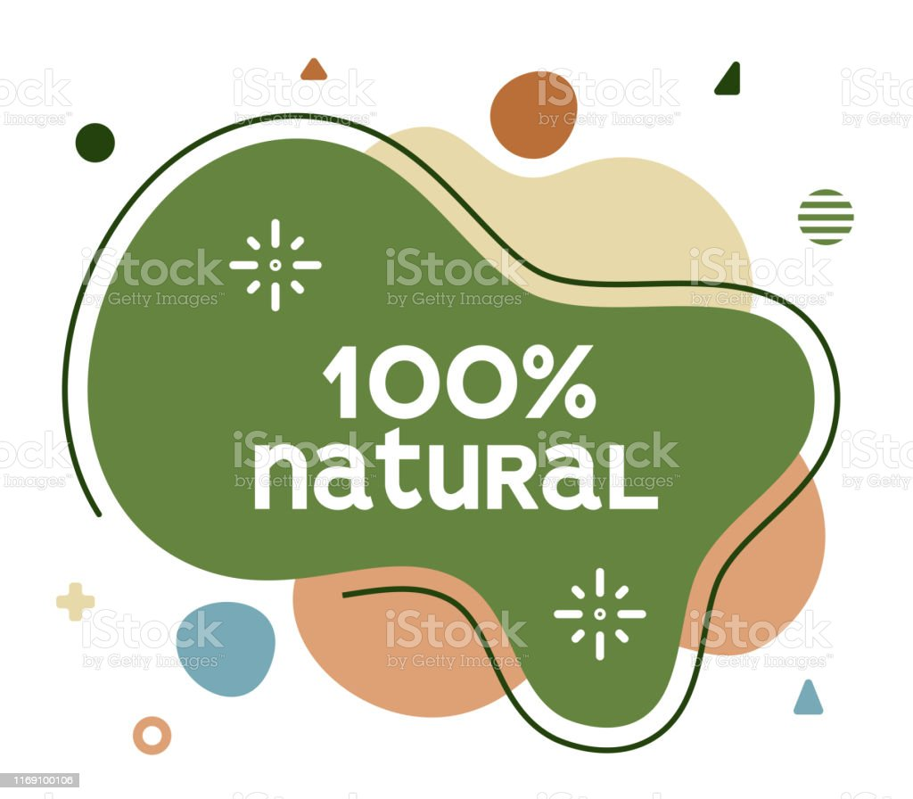100% natural social media advertisement banner to create eye catching...