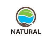 Natural vector icon