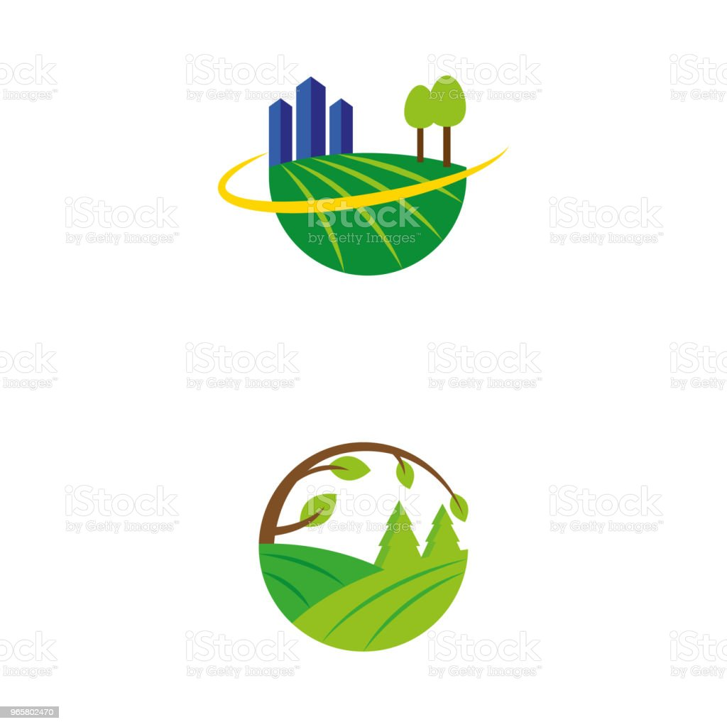nature 14 - Royalty-free Agricultural Field stock vector