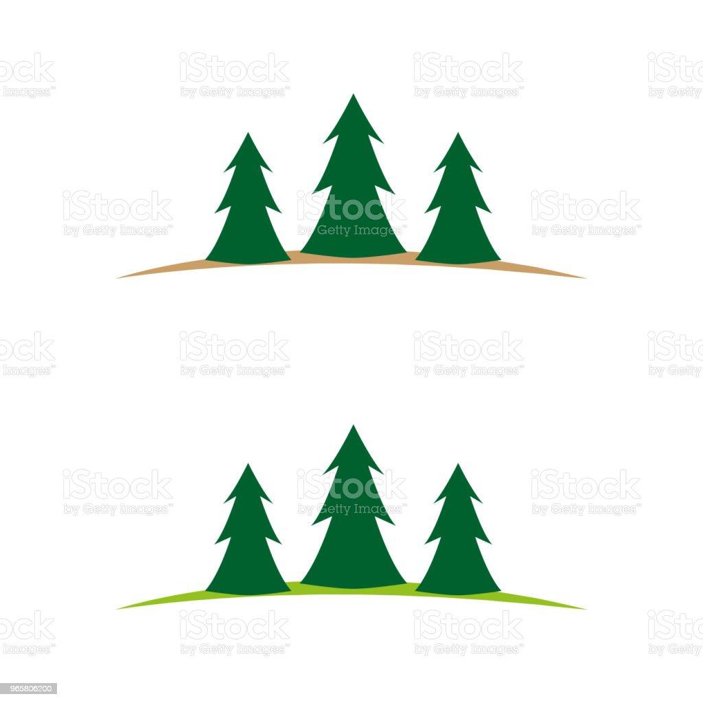natuur 15 - Royalty-free Boom vectorkunst