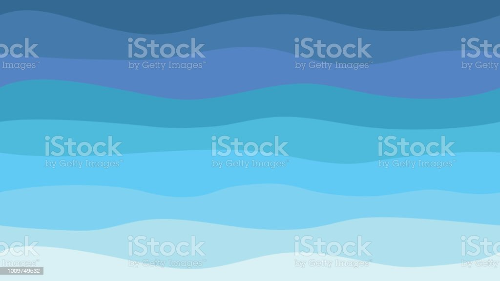 Nature Abstract Sea Background Hd Blue Waves Modern Seamless