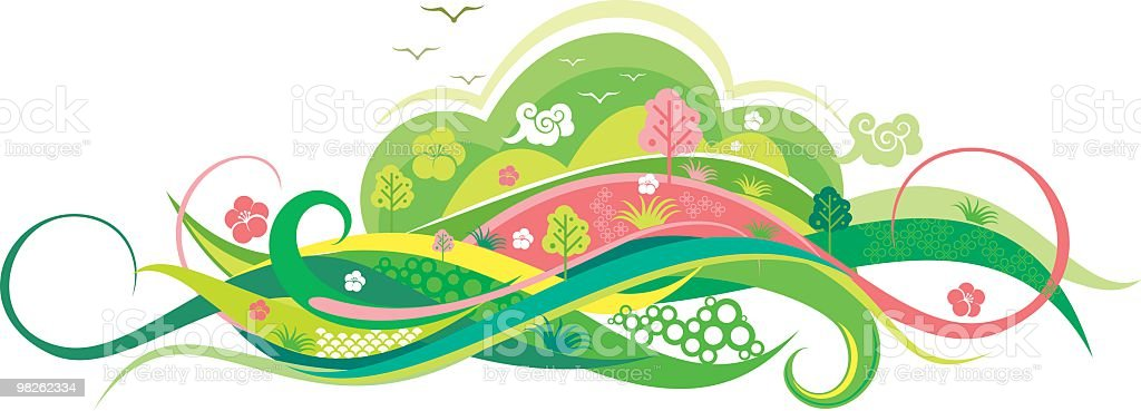 nature abstract royalty-free nature abstract stock vector art & more images of abstract