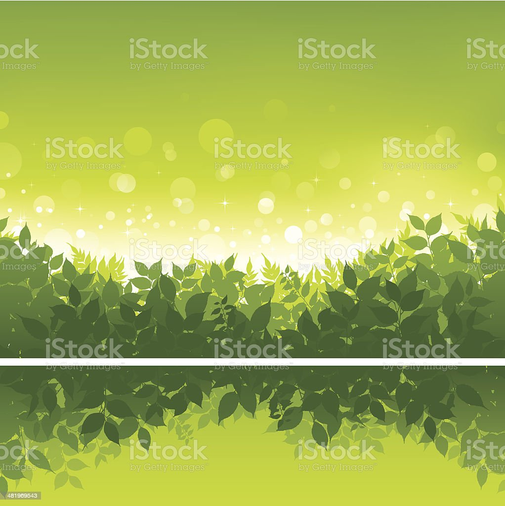 Nature background royalty-free nature background stock vector art & more images of backgrounds