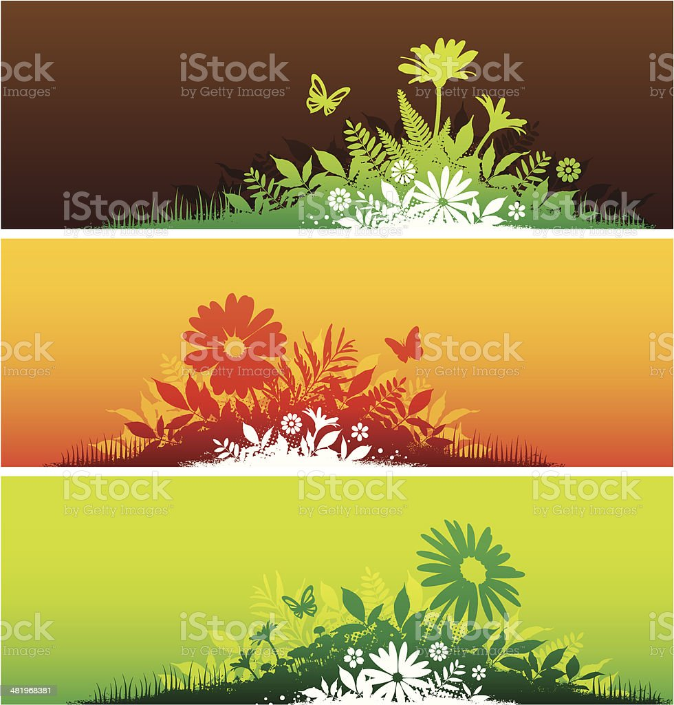 Nature banners royalty-free nature banners stock vector art & more images of backgrounds