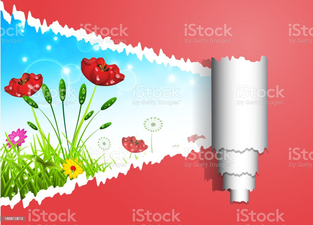 Nature concept royalty-free stock vector art