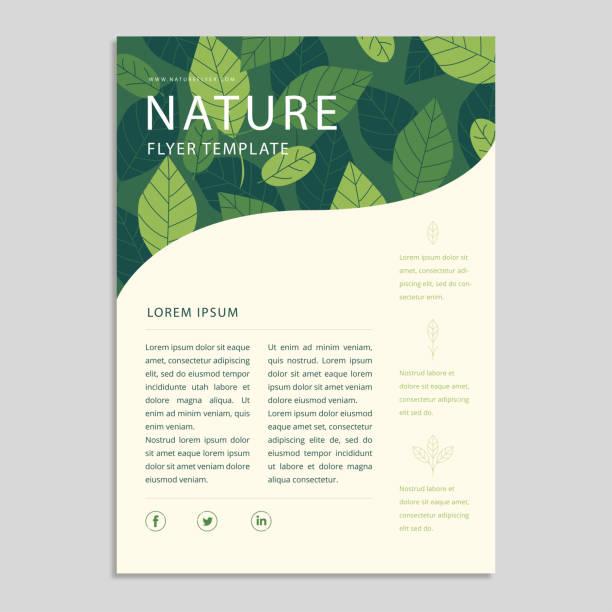 ilustraciones, imágenes clip art, dibujos animados e iconos de stock de nature eco banner - calendario de naturaleza