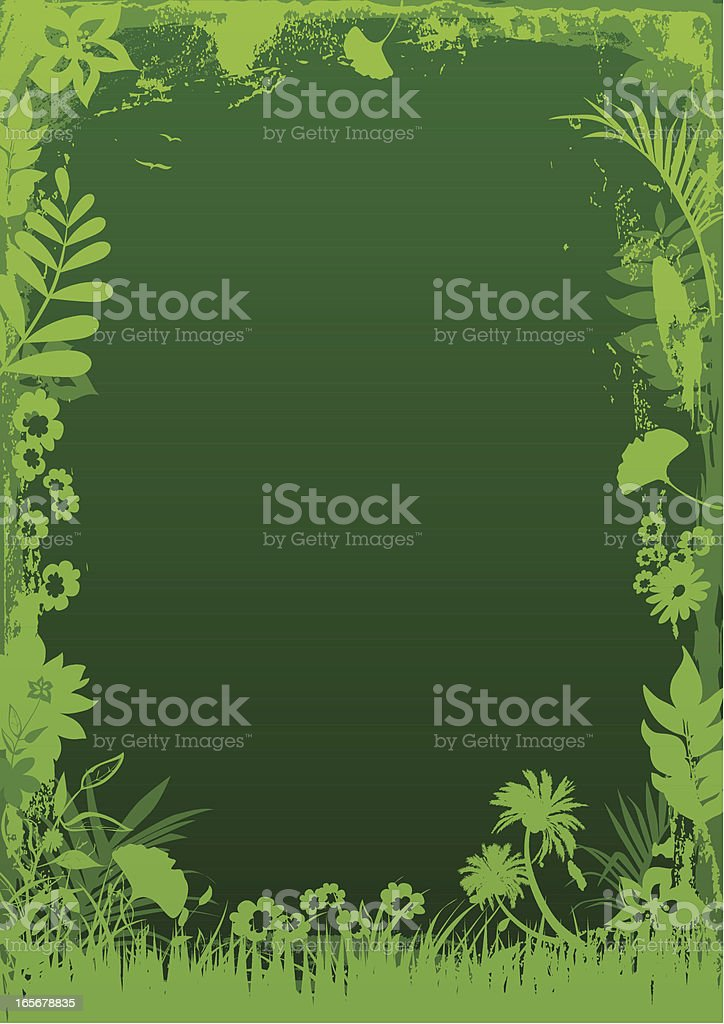 Nature frame royalty-free stock vector art