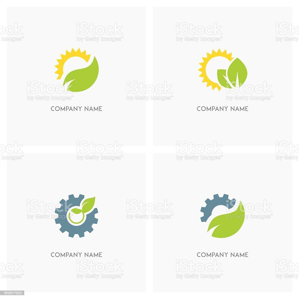 Nature, industry and ecology design element nature industry and ecology design element - stockowe grafiki wektorowe i więcej obrazów bez ludzi royalty-free