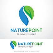 Nature Point Symbol Template Design Vector, Emblem, Design Concept, Creative Symbol, Icon