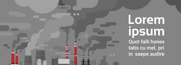 natur verschmutzung pflanze rohr abluft schmutzig und verschmutzten umwelt wasser - aerial overview soil stock-grafiken, -clipart, -cartoons und -symbole