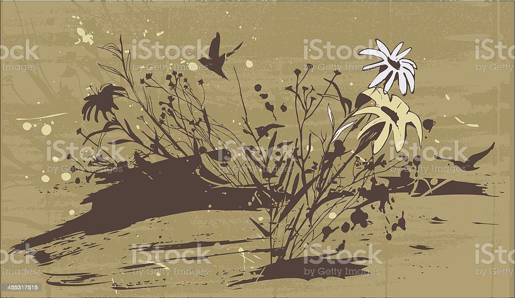 Nature Scene royalty-free stock vector art