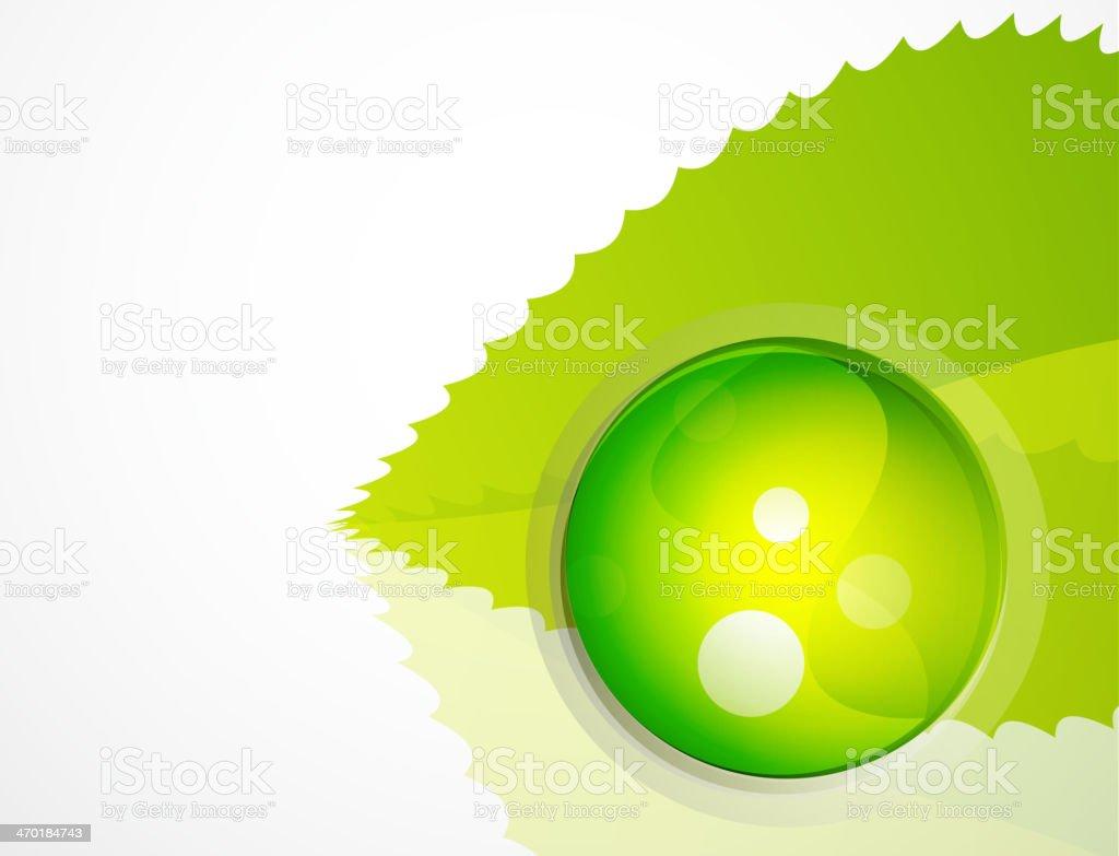 Nature sphere design royalty-free stock vector art