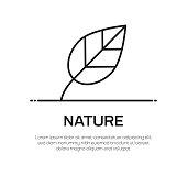 Nature Vector Line Icon - Simple Thin Line Icon, Premium Quality Design Element