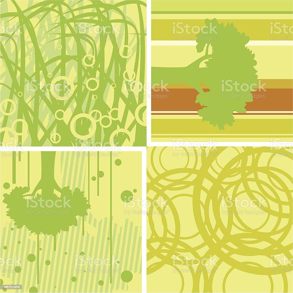 Natureza de Papel de Parede natureza de papel de parede - arte vetorial de stock e mais imagens de abstrato royalty-free