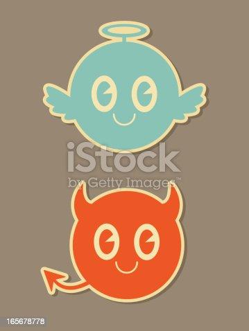 istock Naughty and Nice Icons 165678778