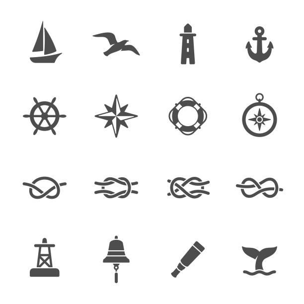 illustrations, cliparts, dessins animés et icônes de graphismes nautiques - bateau