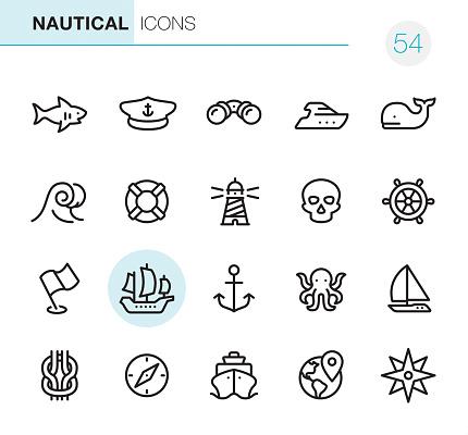 Nautical - Pixel Perfect icons