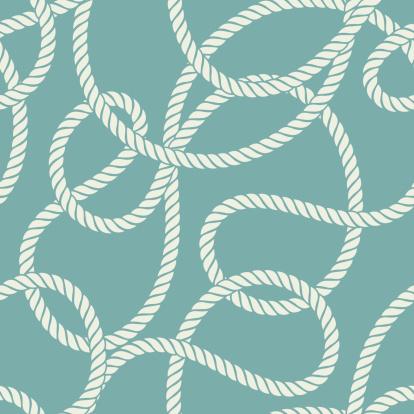 Nautical Rope Seamless Pattern