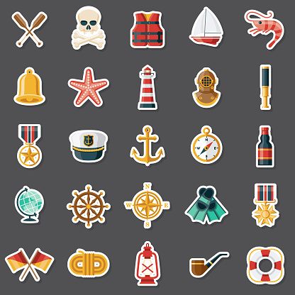 Nautical Sticker Set