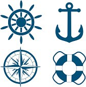 various nautical symbols