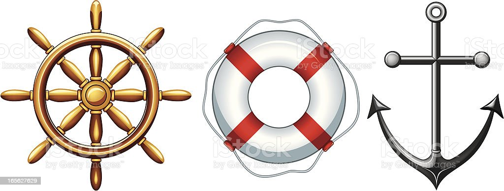 nautical symbols royalty-free nautical symbols stock vector art & more images of accidents and disasters