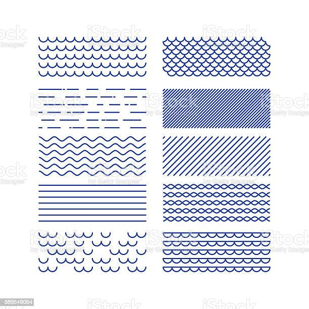 Nautical textures collection linear graphic sea theme design kit vector id589549054?b=1&k=6&m=589549054&s=612x612&h=qp22ziiamopmsoq hferg50le ulsepywraxigaslq8=