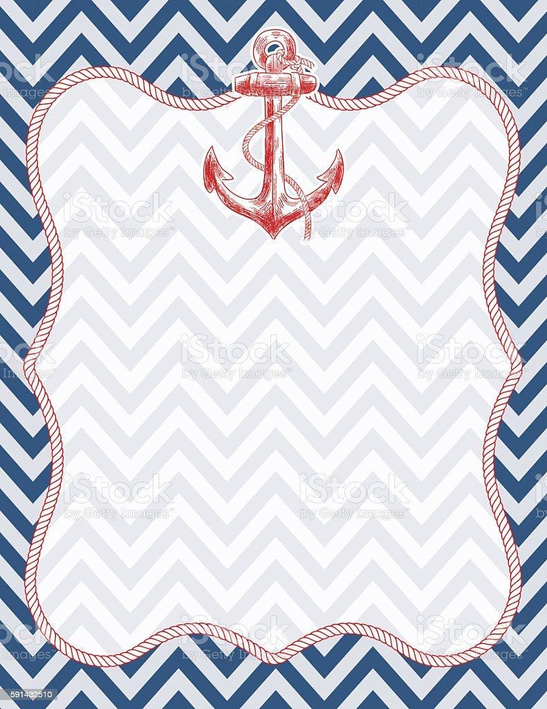 Nautical Themed Background Stock Vector Art & More Images ...
