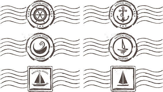 nautical vessel stamps