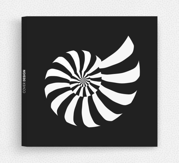 Nautilus shell. Abstract design element. 3D vector illustration. Nautilus shell. Abstract design element. 3D vector illustration. nautilus shell stock illustrations