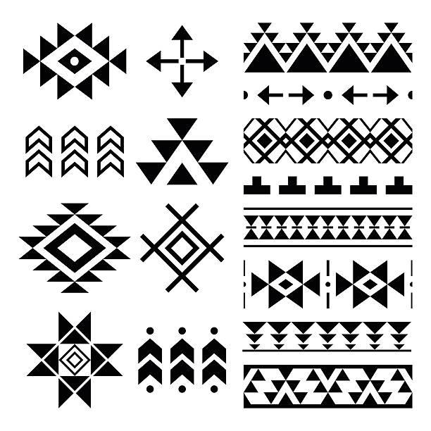 Clip Navajo Pattern Art 3