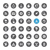 Navigation and Traveling icons