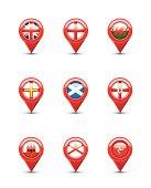 Navigation Flags: British Territories in Europe