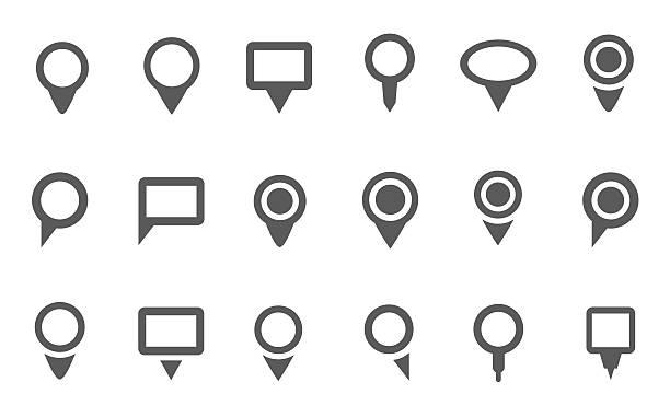 Navigation icon vector art illustration